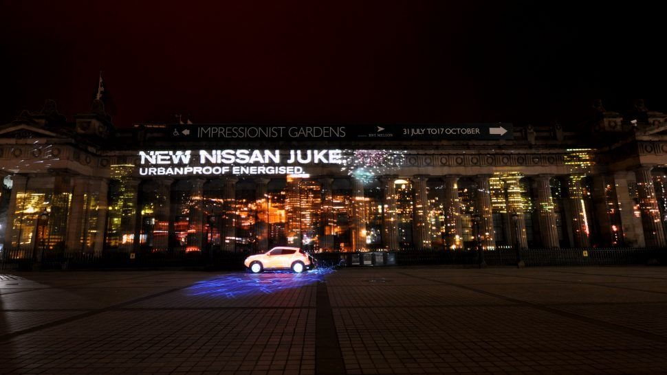 Nissan Juke Launch Experiential Activation