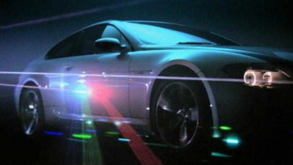 bmw car laser efects