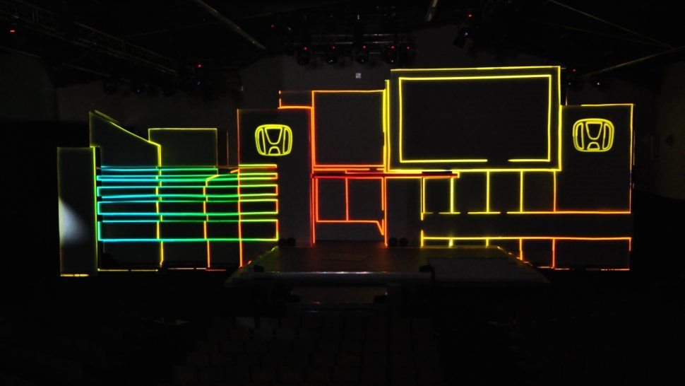 live event pixel mapping projection lci