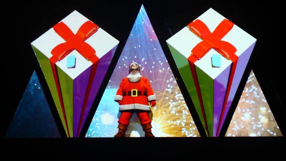christmas show animation santa