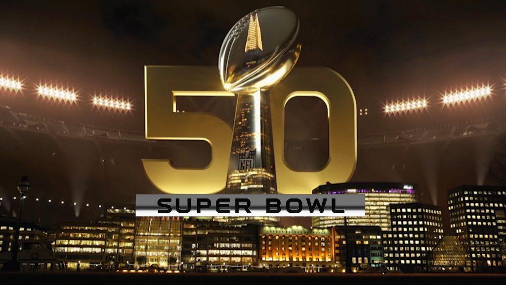 NFL HOLOGRAM CELEBRATING 50 YEARS