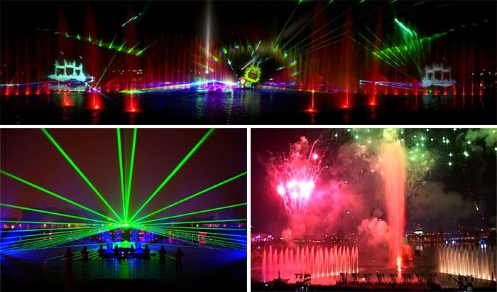MULTIMEDIA WATER SHOW ATTRACTION LCI