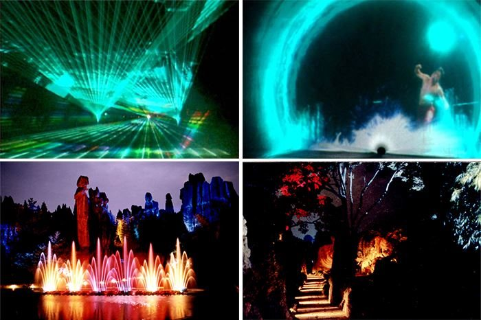 Laser, Water and Light Show