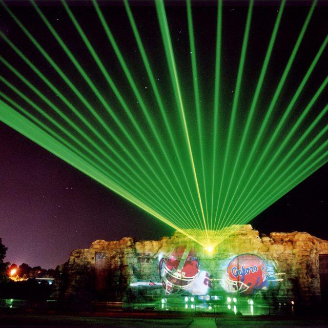 LCI - Celebration City Show, Branson USA projection lasers design water screen & fx