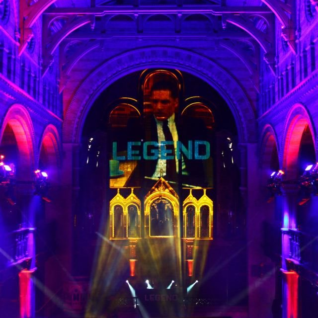 Custom Projection Mapping Legend Film Premiere