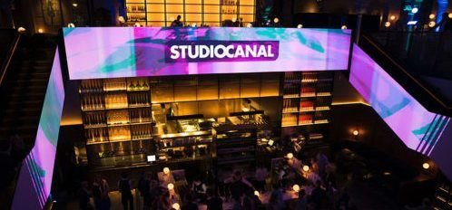 studio canal projection mapping event