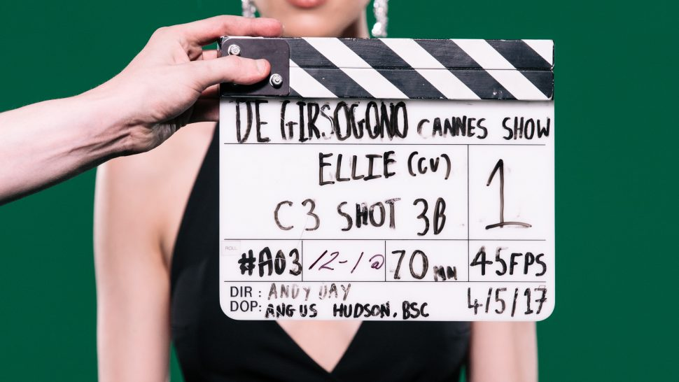 LCI Film shoot green screen