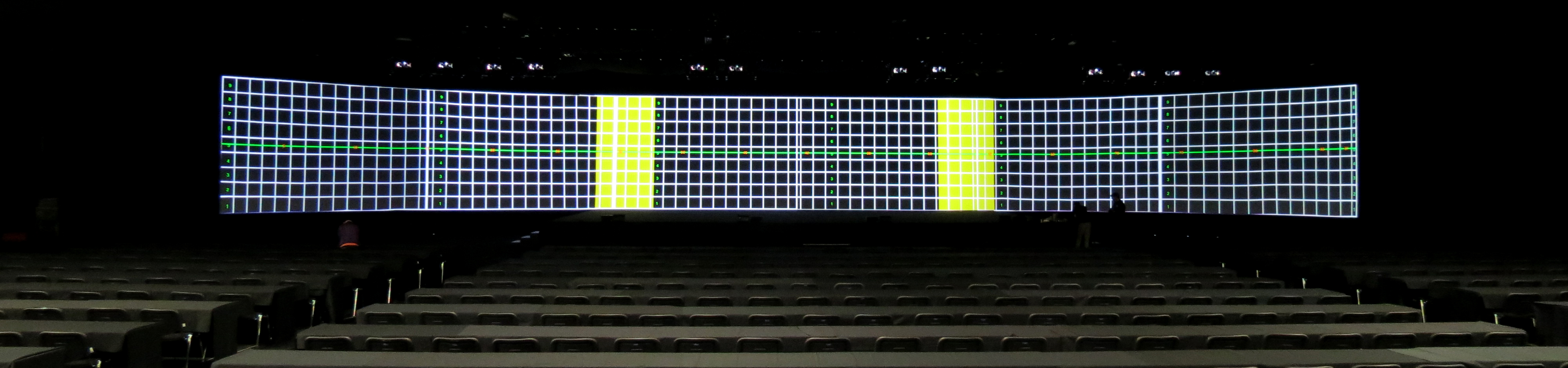 LCI LG 3G Launch ULTRA-WIDE PROJECTION