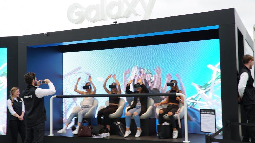 LCI Samsung VR - set design and build LED screen