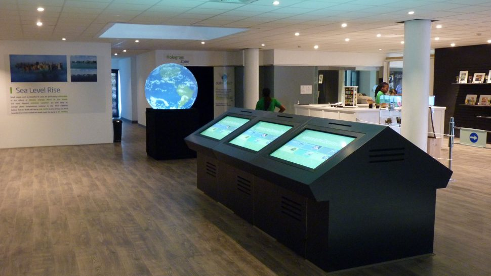 LCI's interactive displays for visitor centres and museums