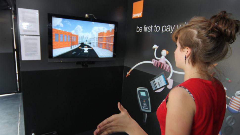 LCI - Interactive Game - Barclaycard Orange