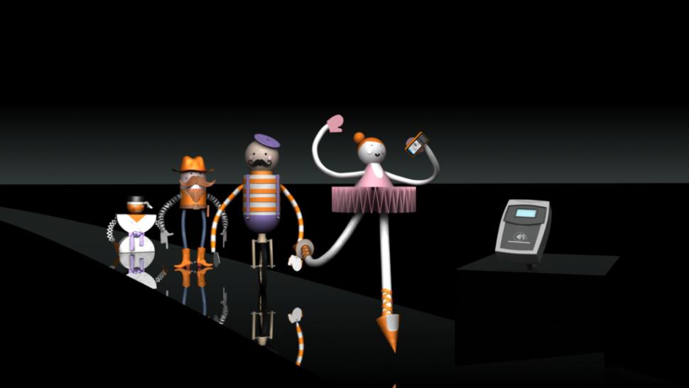 LCI - Interactive game Orange Barclaycard