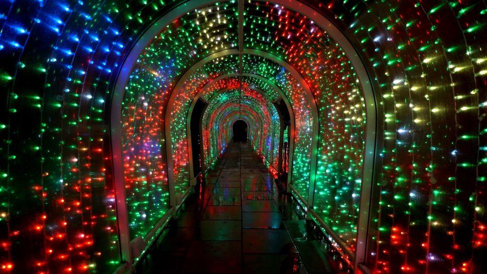 Bude Tunnel Christmas