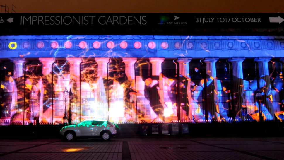 LCI Nissan Projection Mapping