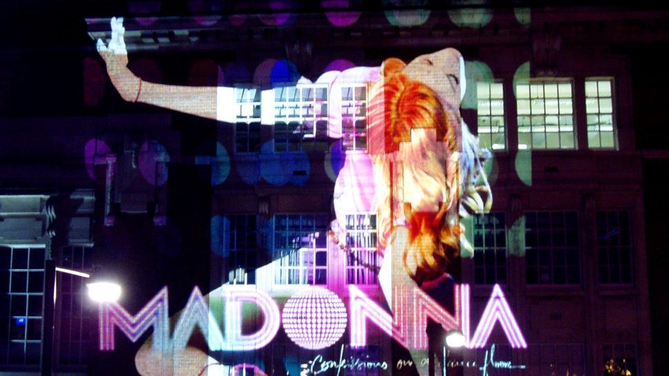 LCI Building Projection - Madonna