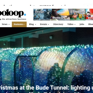 blooloop article on bude tunnel by lci productions