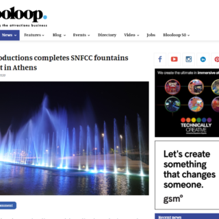 blooloop article on snfcc dancing fountains by lci productions