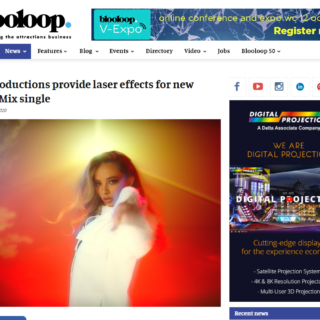 lci create laser effects for little mix break up song video