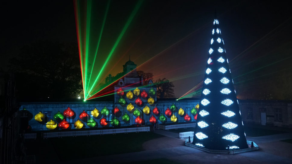 LCI Projection Mapping Longleat