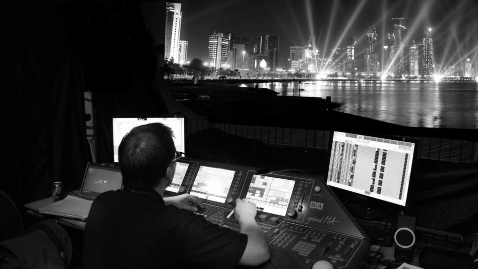 show control system design